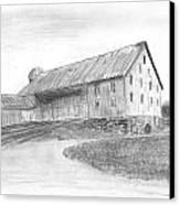Hanover Barn 1 Canvas Print by Carl Muller