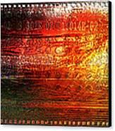 Harmonic Distortion Canvas Print