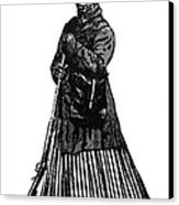 Harriet Tubman (c1823-1913) Canvas Print by Granger
