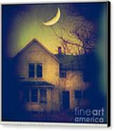 Haunted House Canvas Print by Jill Battaglia