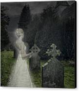 Haunting Canvas Print by Amanda Elwell