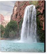 Havasu Waterfall Canvas Print by Chris Hill