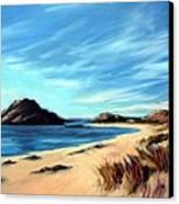 Havik Beach Canvas Print by Janet King