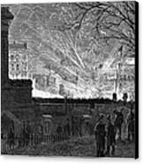 Hayes Inauguration, 1877 Canvas Print by Granger