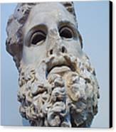 Head Of Zeus At The Acropolis Museum Canvas Print
