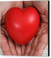 Heart Disease Prevention Canvas Print by Photo Researchers, Inc.