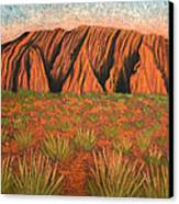 Heart Of Australia Canvas Print by Lisa Frances Judd