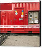 Heavy Duty High Power Industrial Canvas Print by Corepics