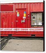 Heavy Duty High Power Industrial Canvas Print by Corepics