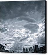 Heavy Sky Canvas Print by Luba Citrin