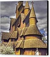 Heddal Stave Church  Canvas Print
