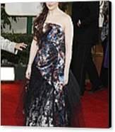 Helena Bonham Carter Wearing A Viviene Canvas Print by Everett