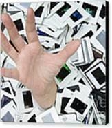 Help - Too Many Slides Canvas Print by Matthias Hauser