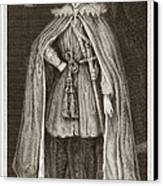 Herbert Of Cherbury, English Philosopher Canvas Print by Middle Temple Library