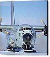 Hercules Lc130h 04 Canvas Print by David Barringhaus