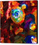 Hermit Crabs In Abstract Canvas Print by Wingsdomain Art and Photography