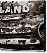 Hi-land  -bw Canvas Print by Christopher Holmes