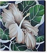 Hibiscus Canvas Print by Holly Donohoe
