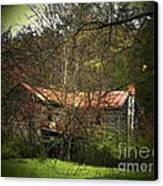 Hidden House In Spring Canvas Print