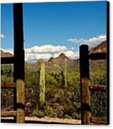 High Chaparral Old Tuscon Arizona  Canvas Print