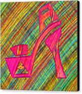 High Heels Power Canvas Print