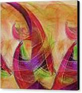 High Vibrational Canvas Print by Linda Sannuti