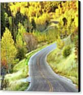 Highway Near Alpine Canvas Print by Utah-based Photographer Ryan Houston