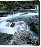 Highwood River Canvas Print by Bob Christopher