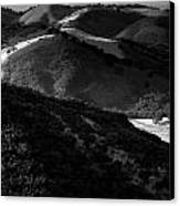 Hills Of Light And Darkness Canvas Print