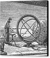 Hipparchus, Greek Astronomer Canvas Print