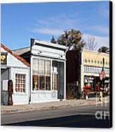 Historic Niles District In California Near Fremont . Main Street . Niles Boulevard . 7d10676 Canvas Print by Wingsdomain Art and Photography