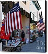 Historic Niles District In California Near Fremont . Main Street . Niles Boulevard . 7d10692 Canvas Print