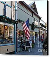 Historic Niles District In California Near Fremont . Main Street . Niles Boulevard . 7d10701 Canvas Print