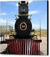 Historic Steam Locomotive Canvas Print