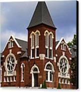 Historical 1901 Uab Spencer Honors House - Birmingham Alabama Canvas Print by Kathy Clark