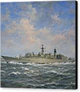 H.m.s. Chatham Type 22 - Batch 3 Canvas Print by Richard Willis