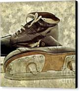 Hockey Boots Canvas Print by Dariusz Gudowicz