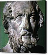 Homer (9th-8th Century B.c.) Canvas Print by Granger