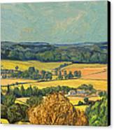 Hommage To Vincent Van Gogh - Zuid Limburg Canvas Print