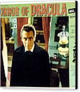 Horror Of Dracula, Christopher Lee, 1958 Canvas Print