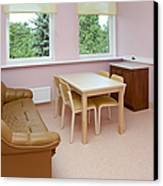 Hospital Waiting Room Canvas Print by Jaak Nilson
