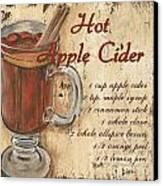 Hot Apple Cider Canvas Print by Debbie DeWitt