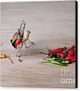 Hot Delivery 02 Canvas Print by Nailia Schwarz