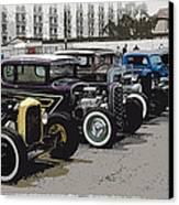 Hot Rod Row Canvas Print