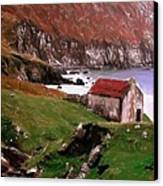 House At The Coast Canvas Print
