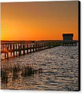 House At The End Of The Pier IIi Canvas Print by Steven Ainsworth
