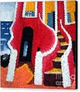 House Of Slaves - Goree Canvas Print