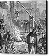 Huguenots: Persecution Canvas Print