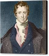 Humphry Davy, English Chemist Canvas Print