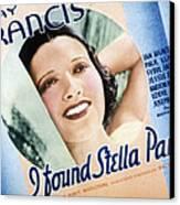 I Found Stella Parish, Kay Francis, 1935 Canvas Print